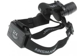 naglavne ANSMANN 3 x AAA, LED Head Torch, Black, Ansmann, 5819083-520