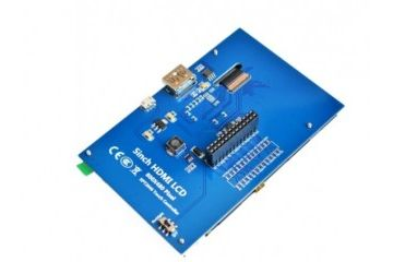 displays, monitors YX Raspberry pi LCD module - TFT 5inch Resistive Touch Screen LCD shield module HDMI interface for Raspberry Pi A+, B+, 2B, YX AG004