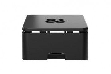 ohišja OKDO Raspberry Pi 4 case, Black, Okdo ASM-1900133-21