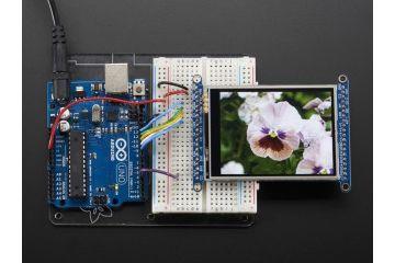lcd-s ADAFRUIT 2.8 TFT LCD with Touchscreen Breakout Board w-MicroSD Socket, Adafruit 1770